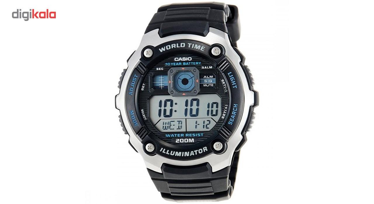 خرید ساعت مچی دیجیتال مردانه کاسیو مدل AE-2000W-1AVDF | ساعت مچی