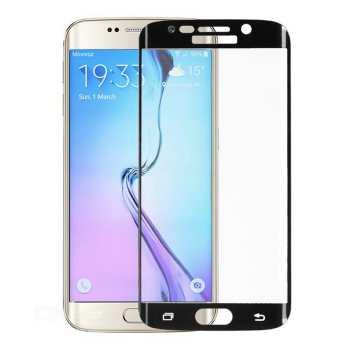 محافظ صفحه نمایش شیشه ای تمپرد مدل Full Cover مناسب برای گوشی موبایل سامسونگ Galaxy S6 Edge Plus