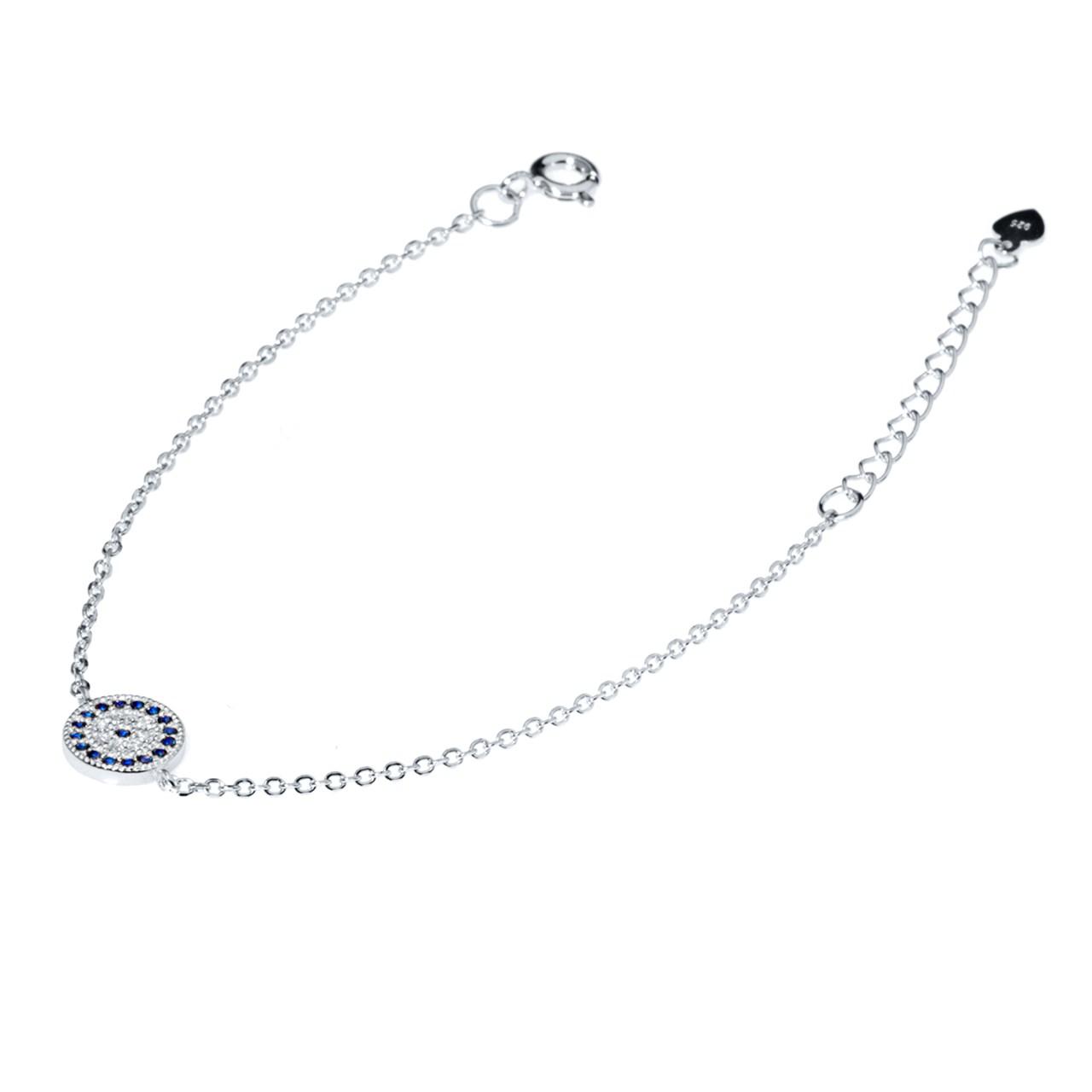 قیمت دستبند نقره اقلیمه کد DN222