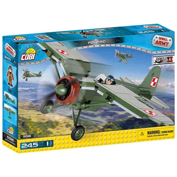 لگو کوبی مدل smallarmy PZL P-11 C