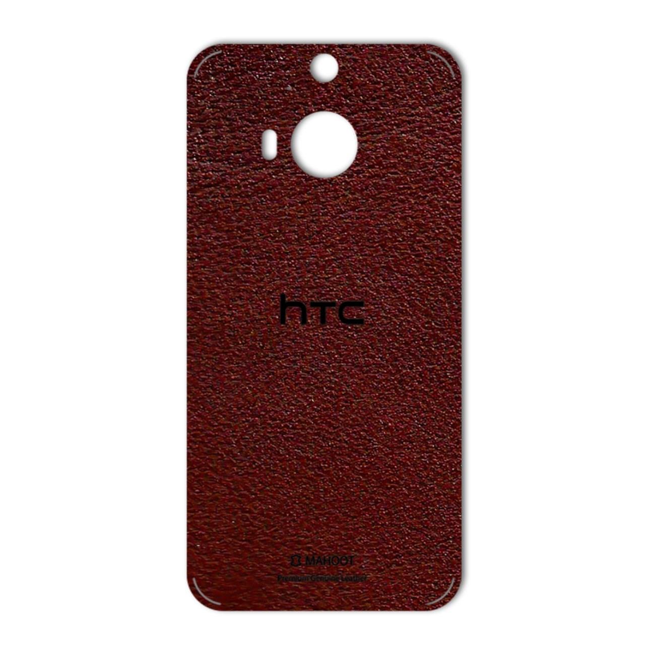 برچسب پوششی ماهوت مدلNatural Leather مناسب برای گوشی  HTC M9 Plus