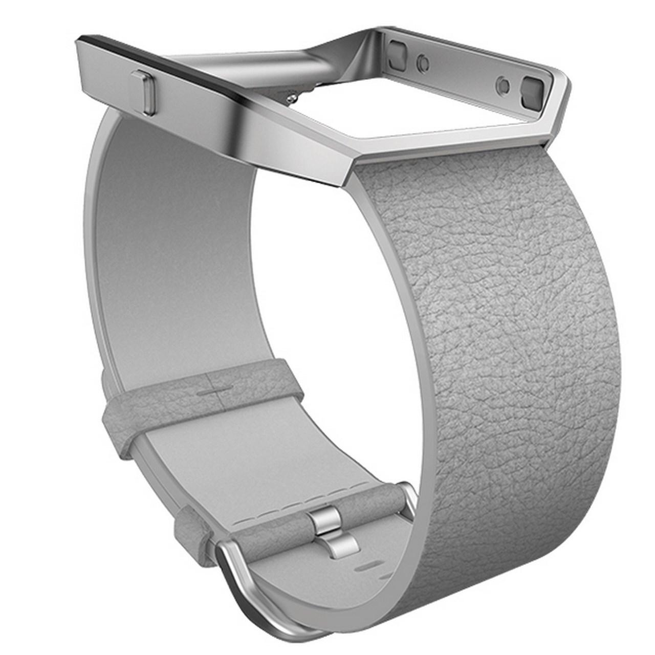 عکس بند مچ بند هوشمند فیت بیت مدل Blaze Leather سایز کوچک