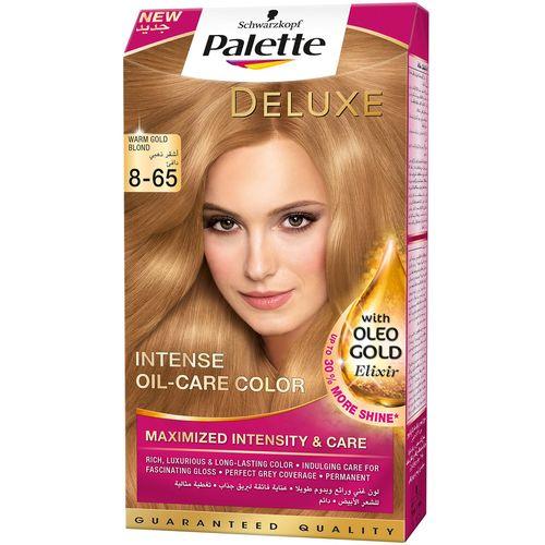 کیت رنگ مو پلت سری Deluxe مدل Golden Gloss Mocca شماره 65-8