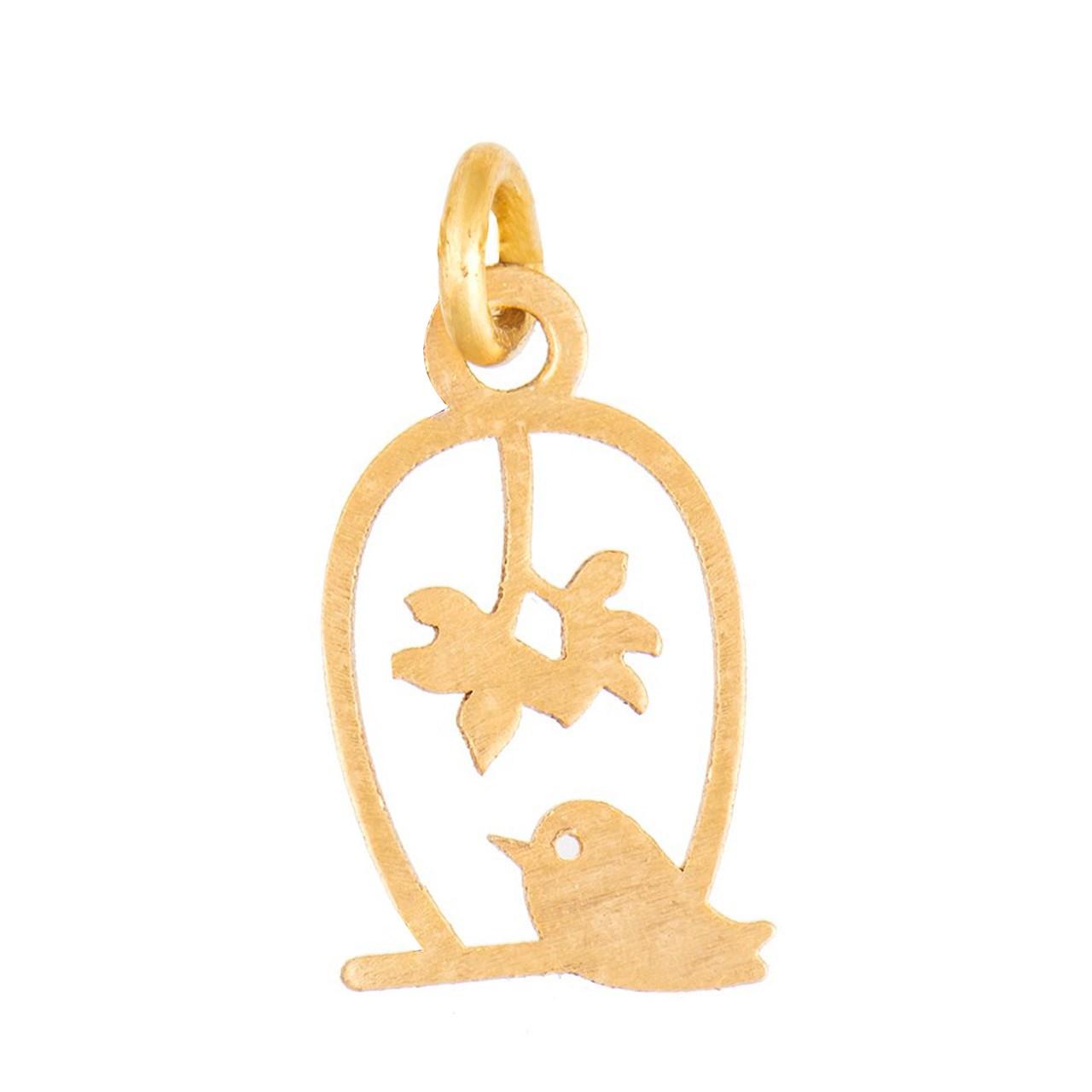 آویز گردنبند طلا 18 عیار شانا کد N-SG15
