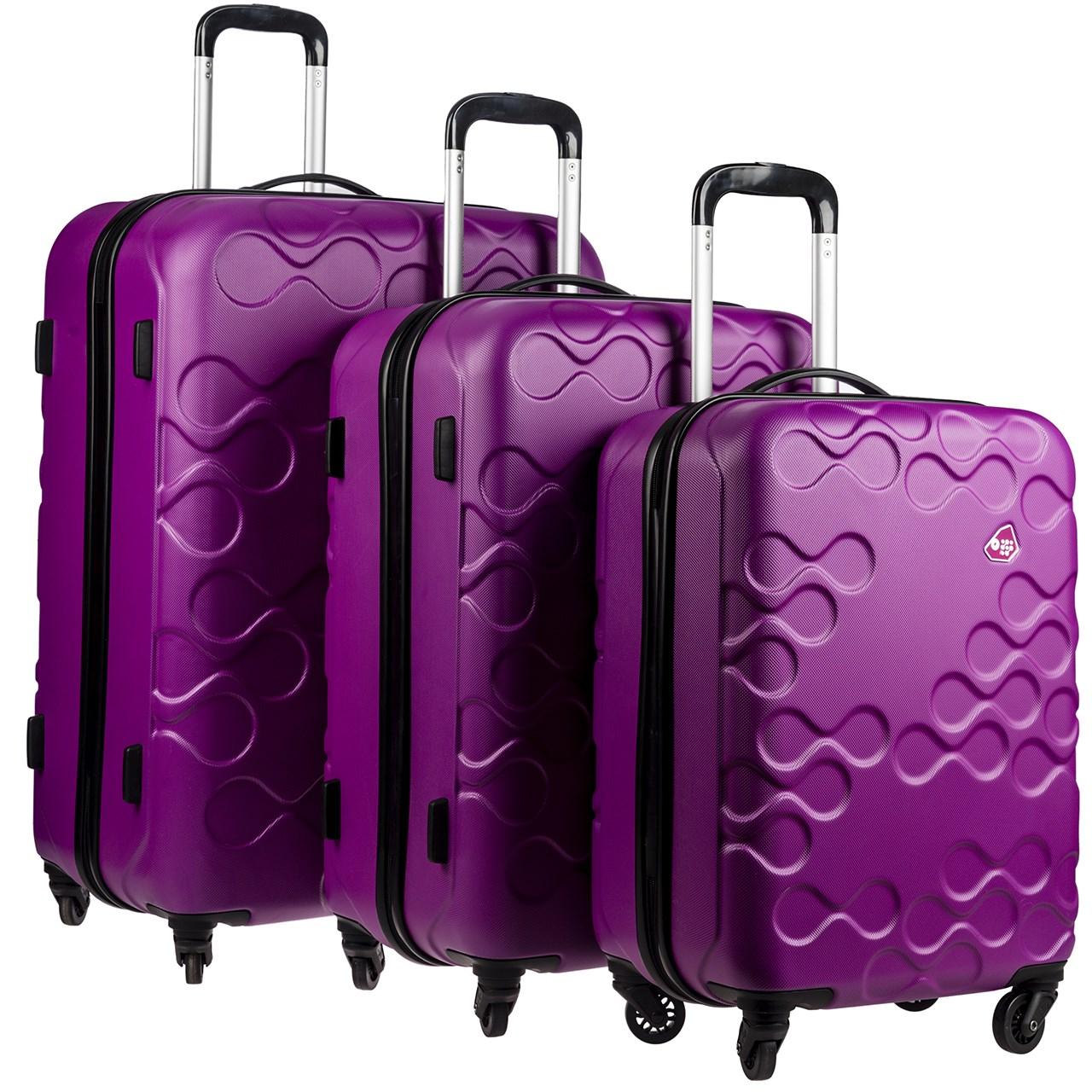 مجموعه سه عددی چمدان کامیلیانت مدل Harrana