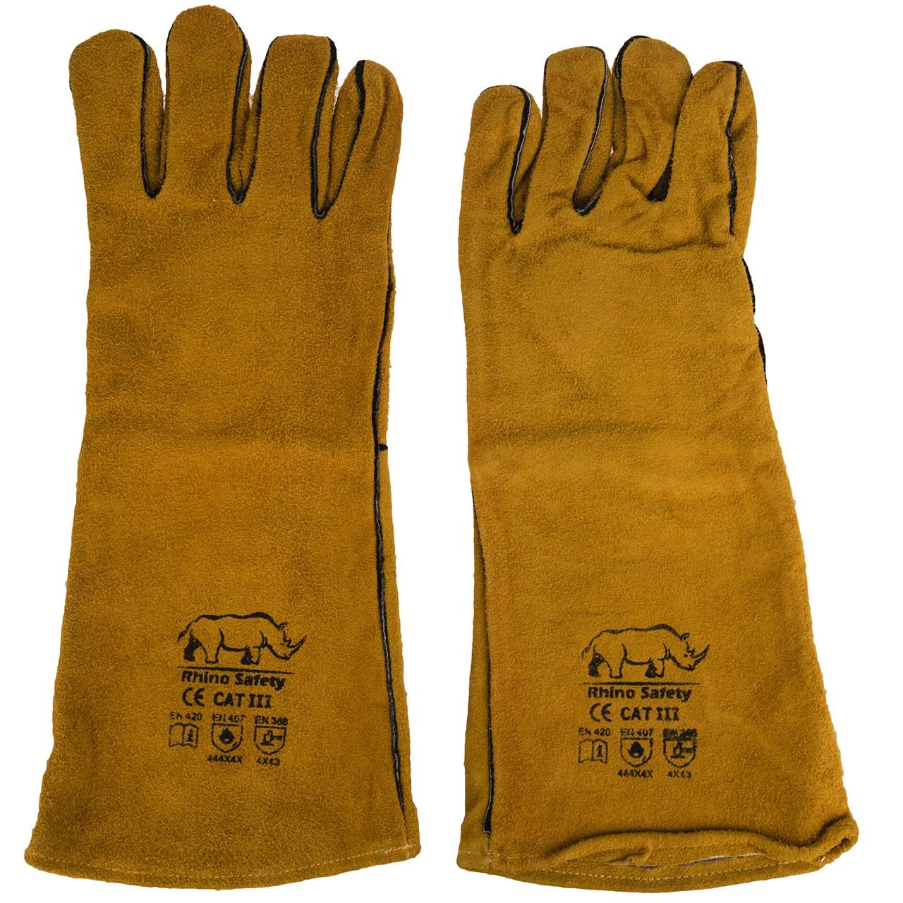 دستکش ایمنی راینو سیفتی مدل هوبارت بسته 6 جفتی