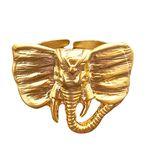 انگشتر زنانه مدل فیل کد GOLEN-87