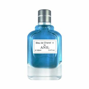 ادوتویلت مردانه آنیل مدل Bleu de Chanel سری اکونومیک حجم 100 میلی لیتر