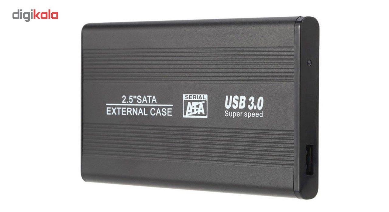 باکس تبدیل SATA به USB 3.0   مدل NM-FB فلزی 2.5 اینچی main 1 1