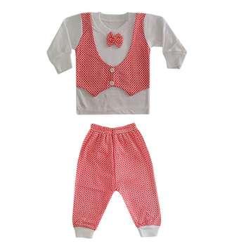 ست 2 تکه لباس نوزاد کد GE-01