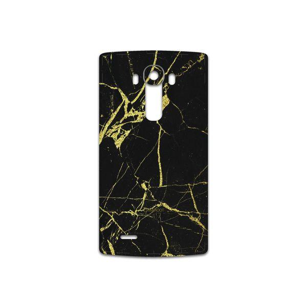 برچسب پوششی ماهوت مدل Graphite-Gold-Marble مناسب برای گوشی موبایل ال جی G4