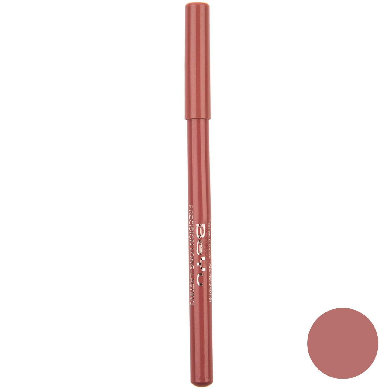 مداد لب بی یو مدل Long Lasting شماره 81