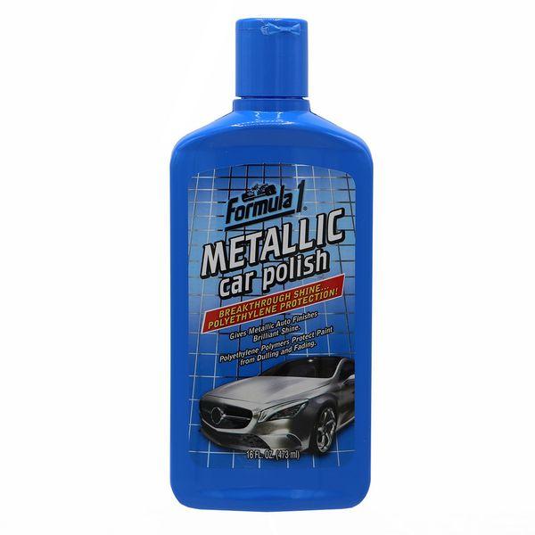 محلول پولیش متالیک فرمول وان مدل Metalic Car Polish 653975 - حجم 473 میلی لیتر