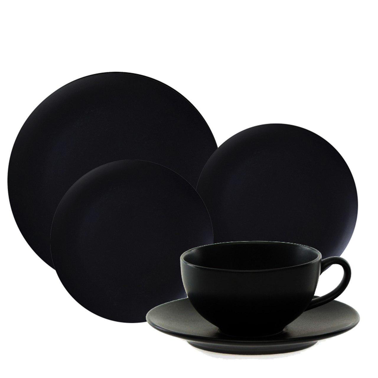 سرویس غذاخوری 30 پارچه آکسفورد مدل Black