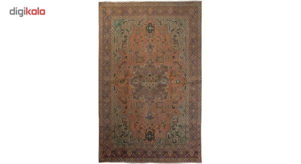 فرش رنگ شده سه متری تولیدی هریس کد 100236