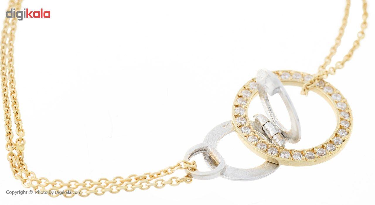 دستبند طلا 18 عیار ماهک مدل MB0168 - مایا ماهک -  - 1