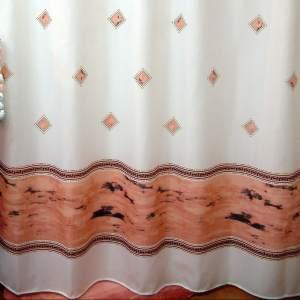 پرده حمام فرش مریم مدل Ana - سایز 180 × 180 سانتی متر
