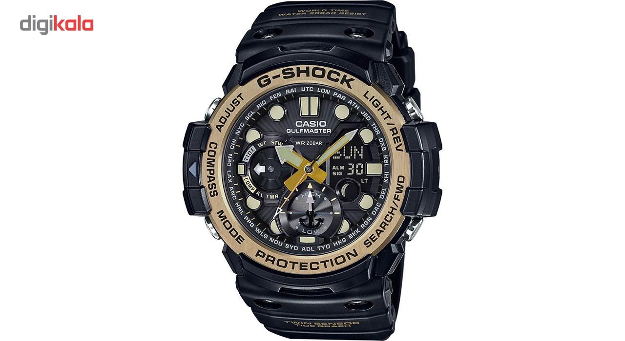 ساعت مچی عقربه ای مردانه کاسیو جی شاک مدل GN-1000GB-1ADR