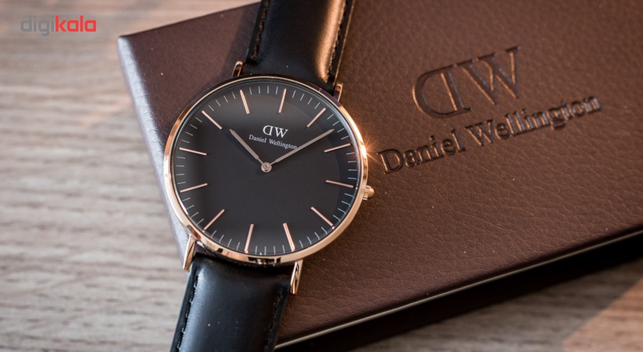 ساعت مچی عقربه ای زنانه دنیل ولینگتون مدل DW00100139