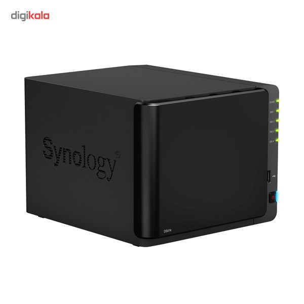 ذخیره ساز تحت شبکه 4Bay سینولوژی مدل دیسک استیشن DS414