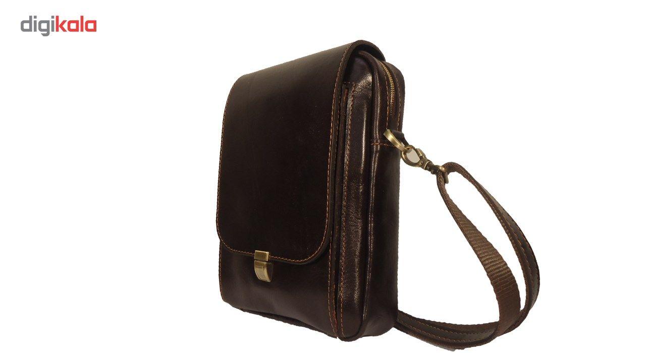 کیف رو دوشی چرم مردانه سالار مدل E140-L main 1 1