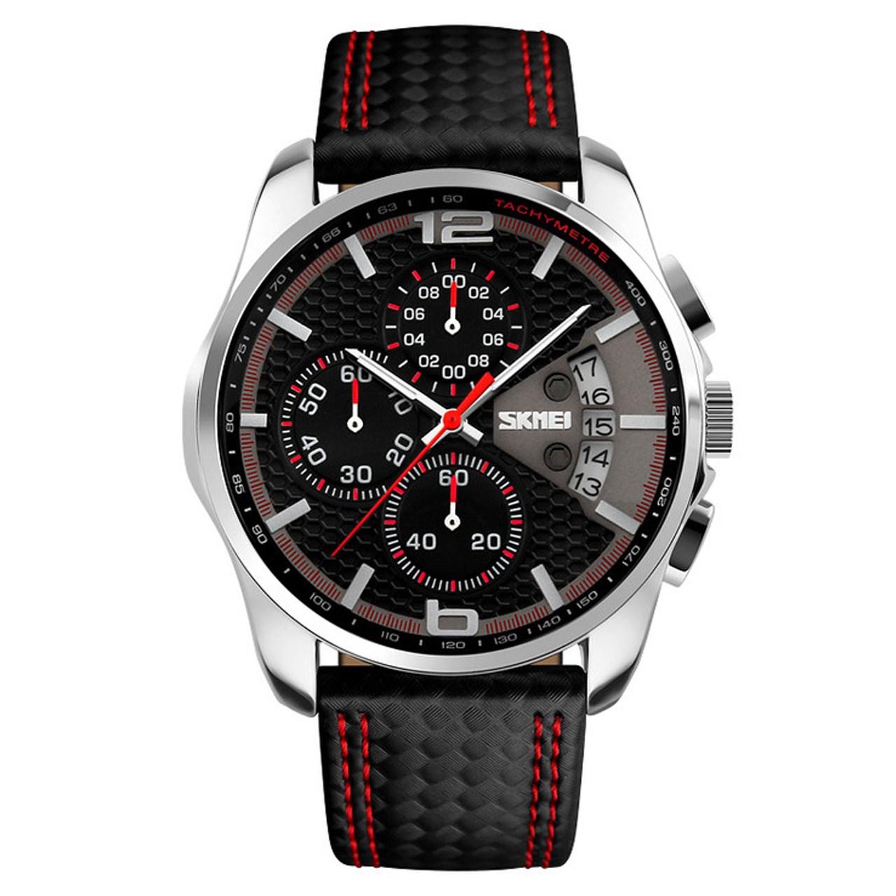 ساعت مچی عقربه ای مردانه اسکمی مدل S9106/Red