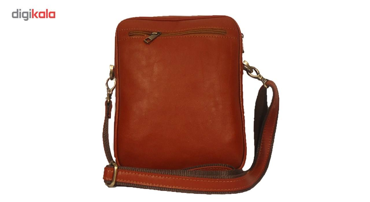 کیف رو دوشی چرم مردانه سالار مدل E140-L main 1 2