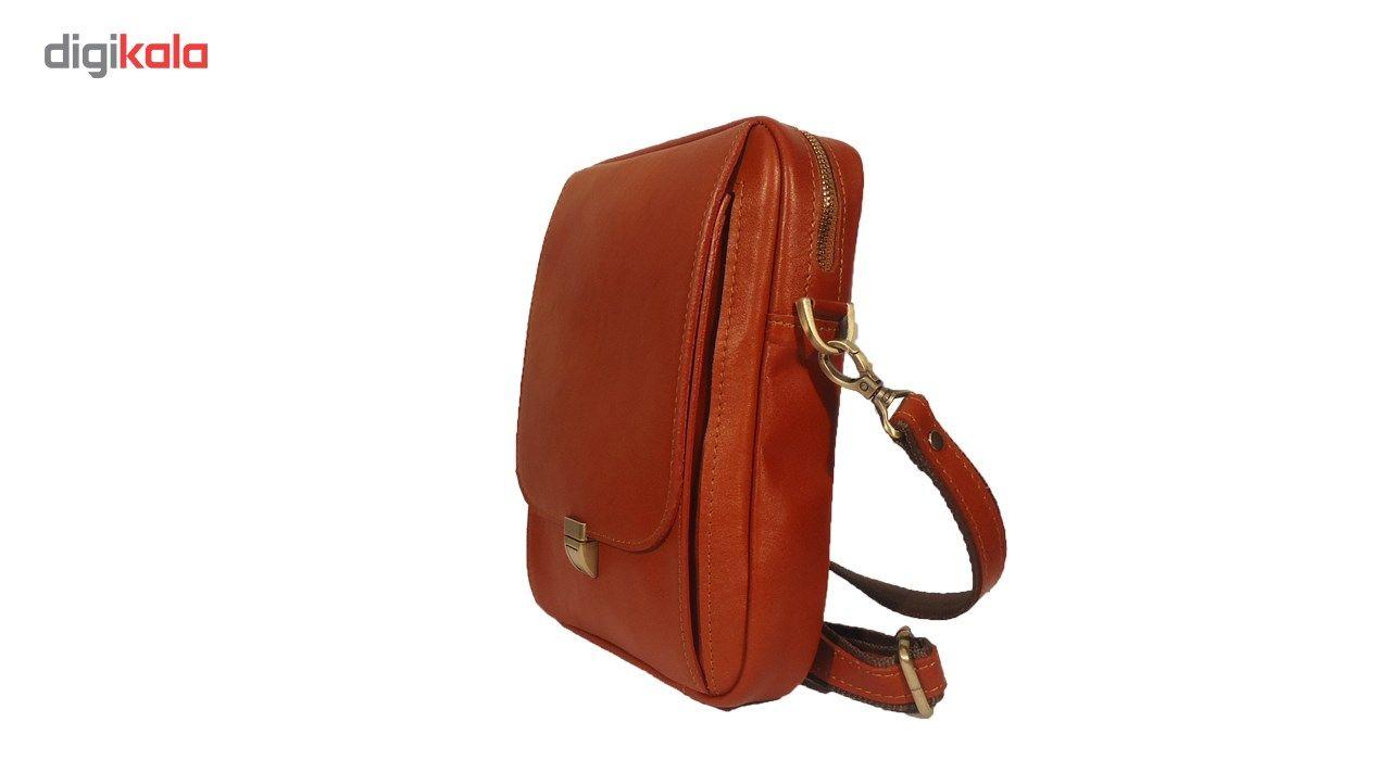 کیف رو دوشی چرم مردانه سالار مدل E140-L main 1 3
