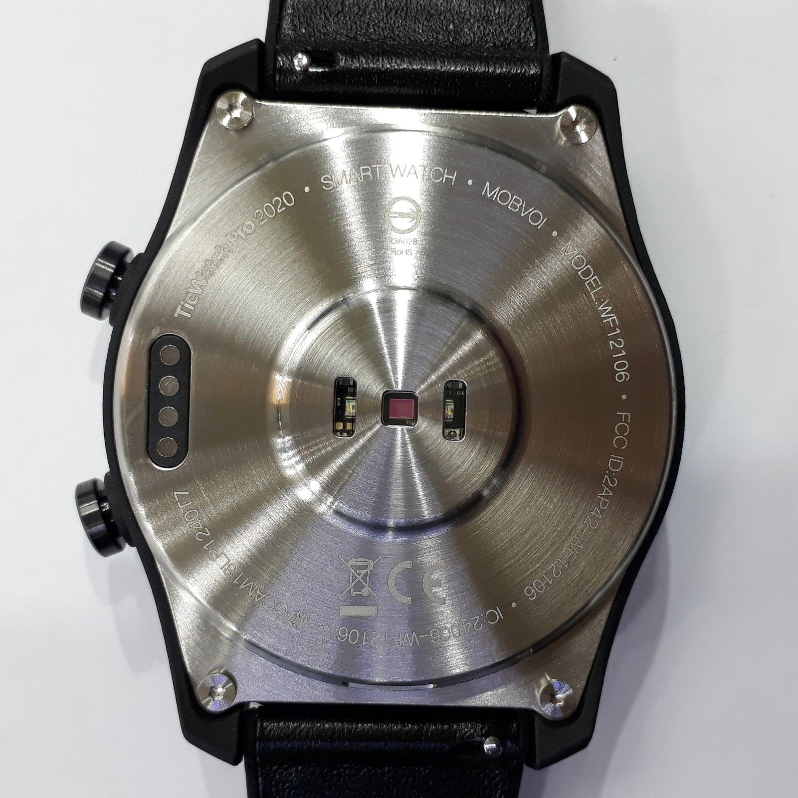 ساعت هوشمند موبووی مدل ticwatch کد PRO 2020 SHADOW BK -  - 5