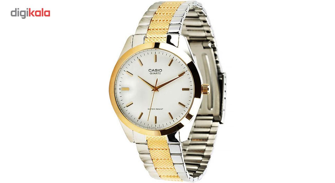 خرید ساعت مچی عقربه ای مردانه کاسیو مدل MTP-1274SG-7ADF | ساعت مچی