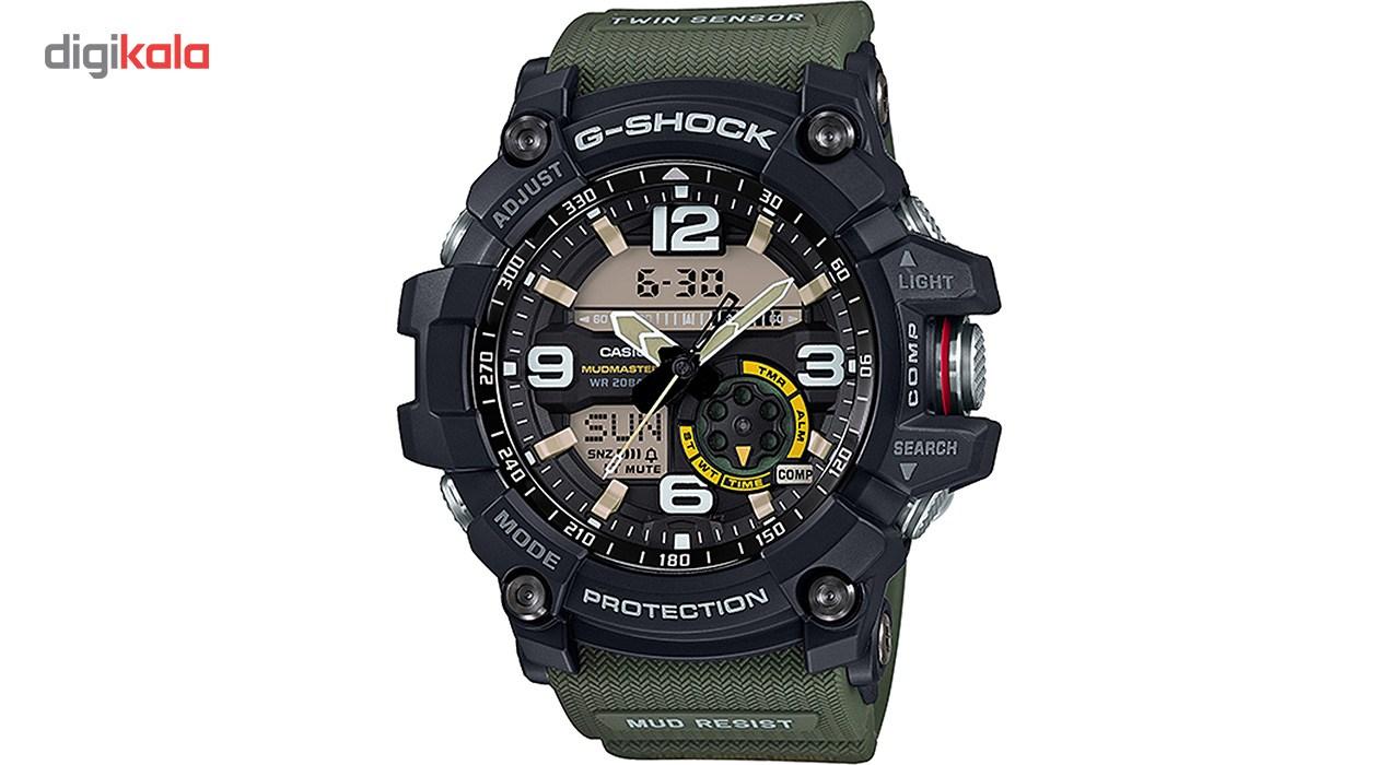 خرید ساعت مچی عقربه ای مردانه کاسیو جی شاک مدل GG-1000-1A3DR | ساعت مچی