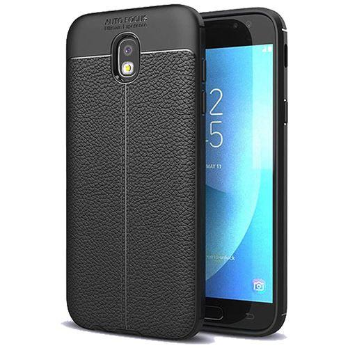 کاور ژله ای طرح چرم مناسب برای گوشی موبایل سامسونگ J5 Pro