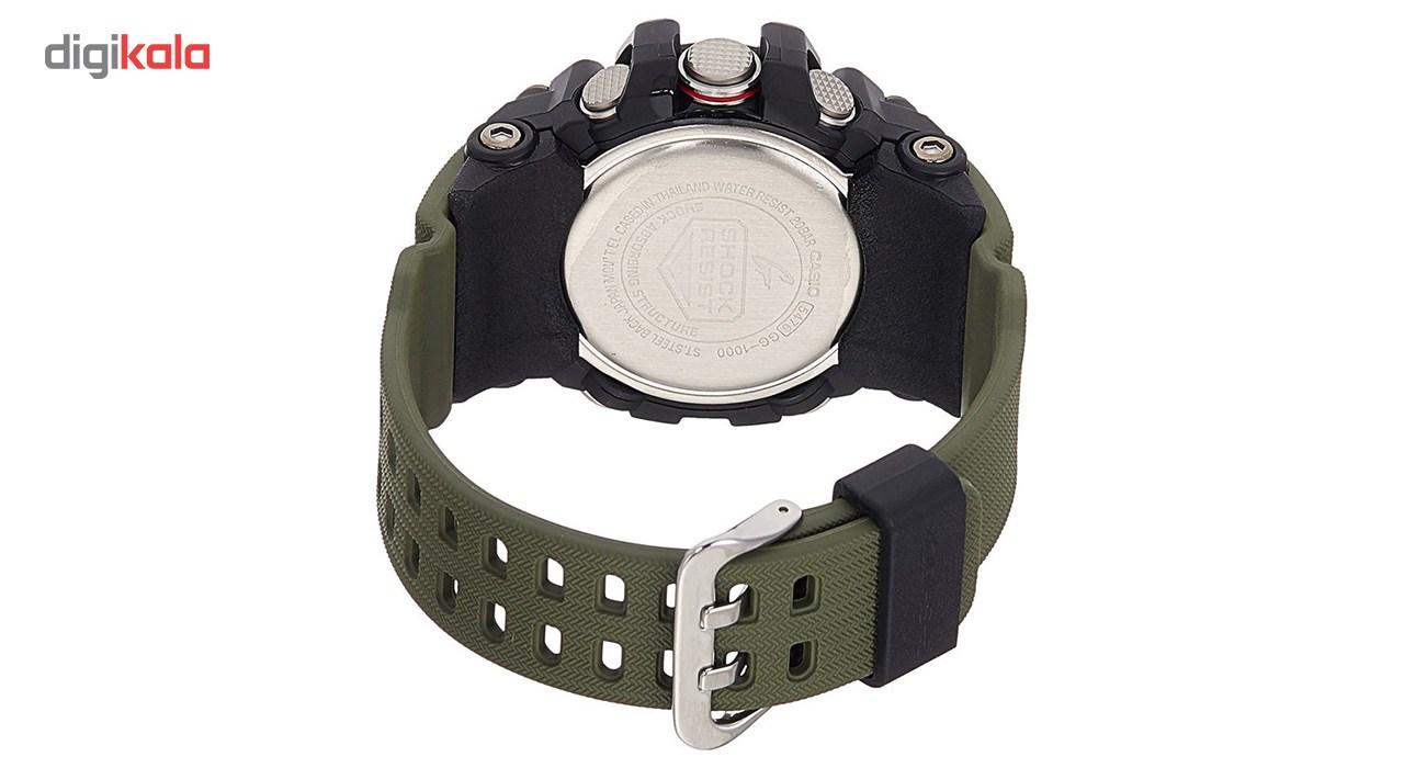 ساعت مچی  مردانه کاسیو جی شاک مدل GG-1000-1A3DR              اصل