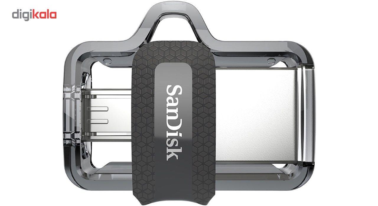 فلش مموری سن دیسک مدل Ultra Dual Drive M3.0 ظرفیت 128 گیگابایت main 1 2