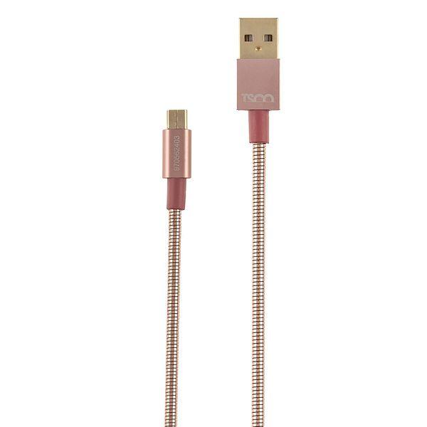 کابل تبدیل USB به microUSB تسکو مدل TC 62 طول 1 متر