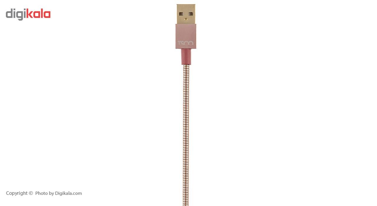 کابل تبدیل USB به microUSB تسکو مدل TC 62 طول 1 متر main 1 2