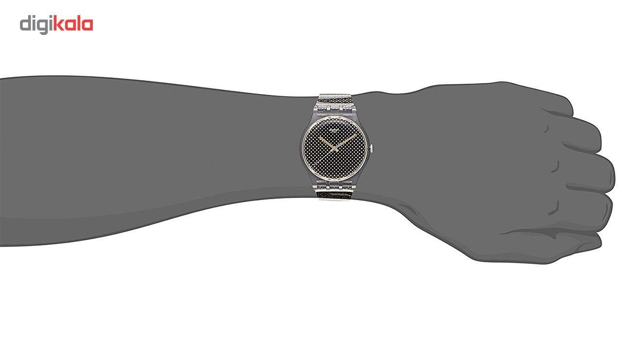 ساعت مچی عقربه ای زنانه سواچ مدل SUOK119 -  - 3