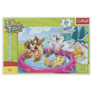 پازل 24 تکه تریفل مدل  Warner Baby Looney Tunes