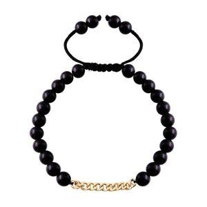 دستبند طلا 18 عیار مرجان مدل 086