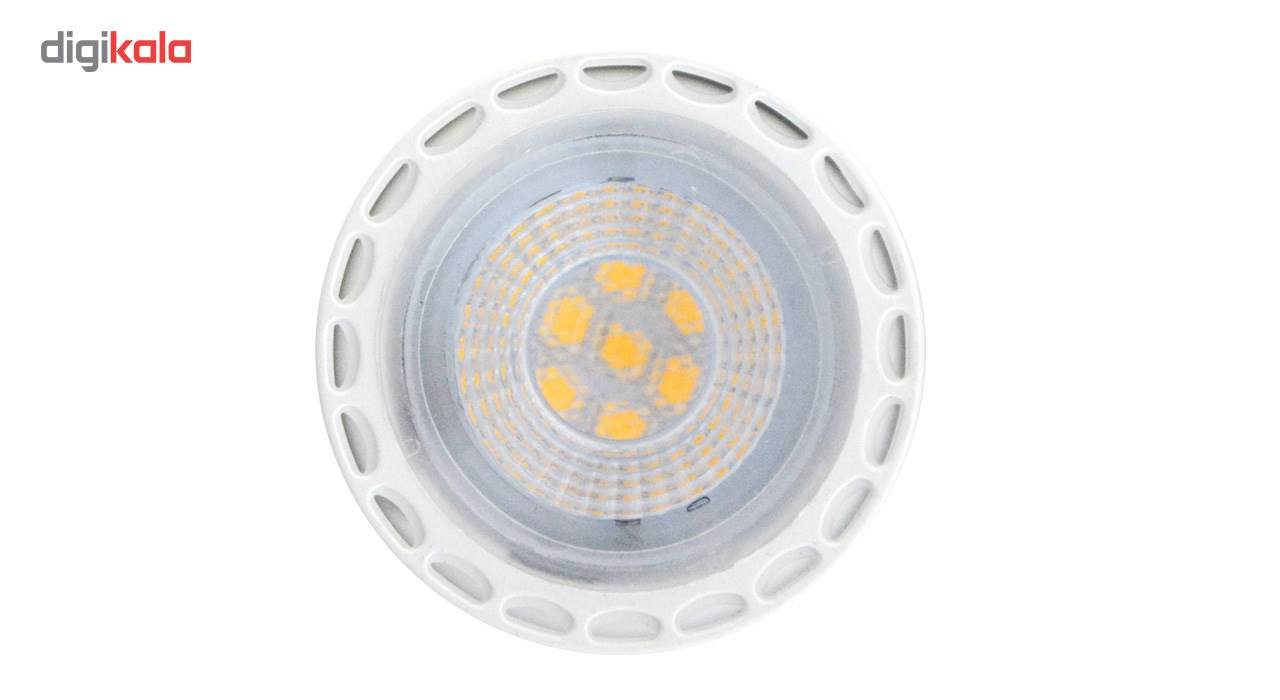 لامپ ال ای دی 7 وات تکنوتل مدل 1807 پایه GU5.3 بسته 10 عددی main 1 2