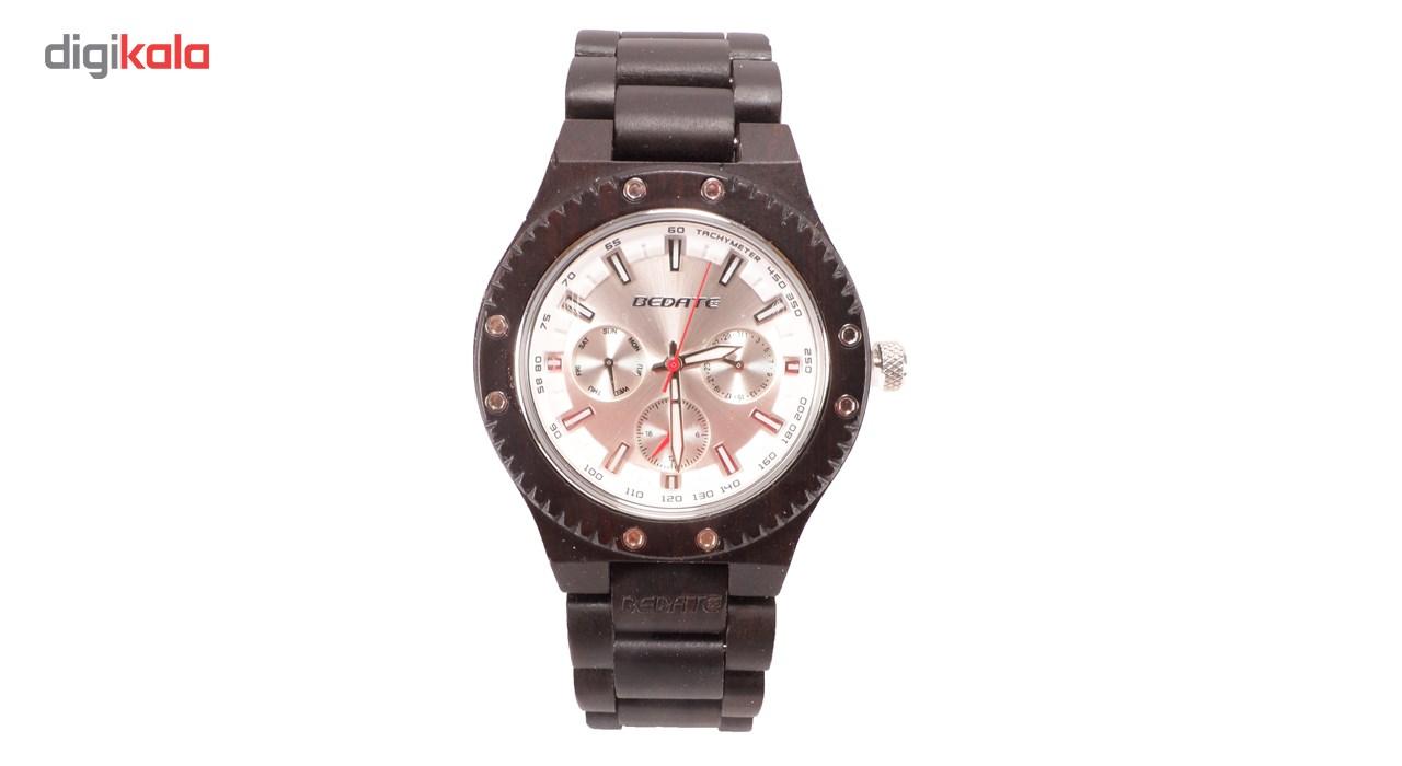 خرید ساعت مچی چوبی عقربه ای مردانه بیدیت مدل RW83