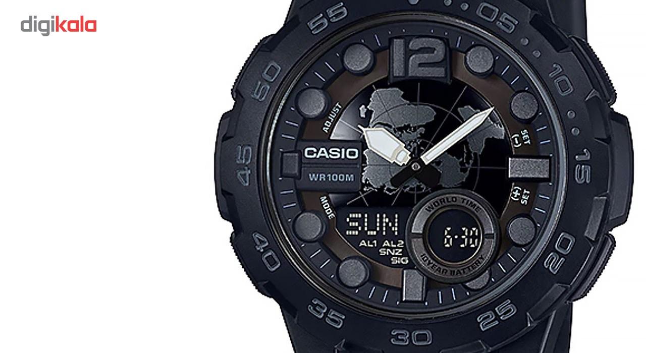 ساعت مچی عقربه ای مردانه کاسیو مدل AEQ-100W-1BVDF