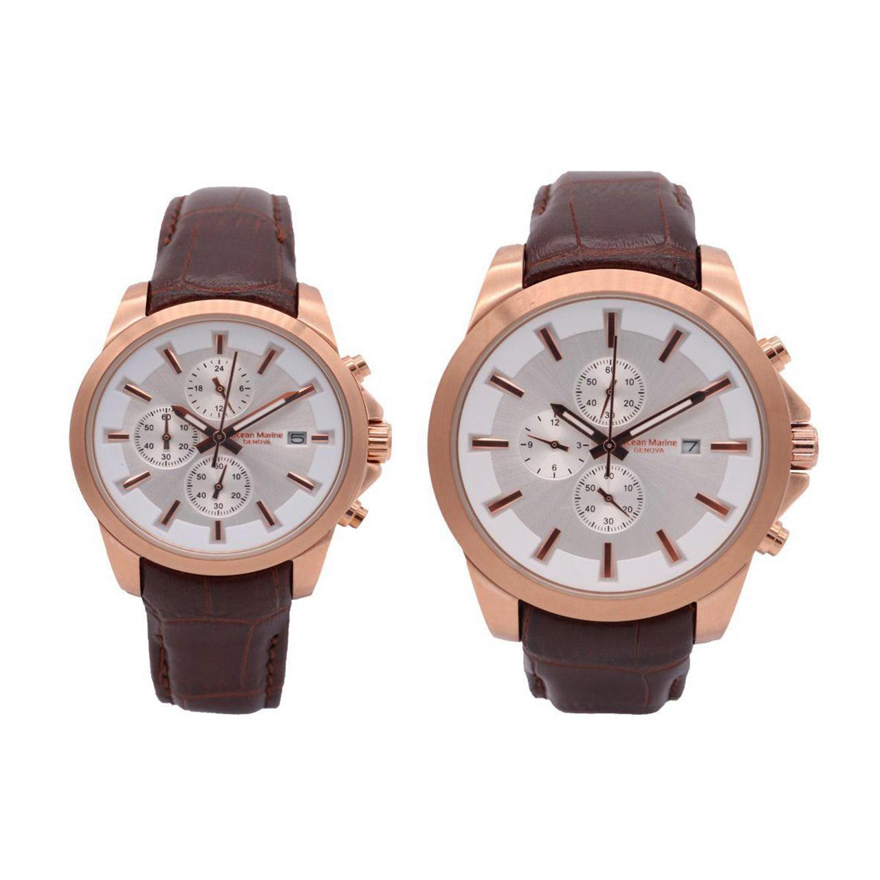 ساعت ست مردانه و زنانه اوشن مارین مدل OM-8104L-2 و OM-8104G-2