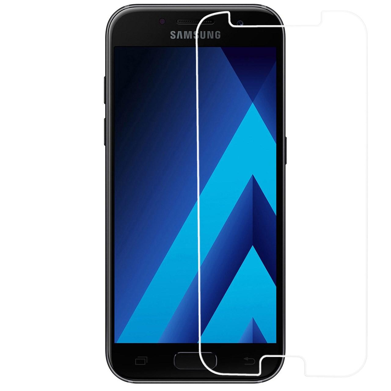 محافظ صفحه نمایش شیشه ای ریمکس مدلTempered مناسب برای گوشی موبایل سامسونگ Galaxy A7 2017