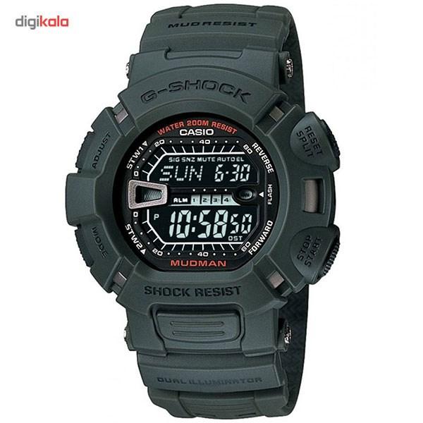 خرید ساعت مچی دیجیتال مردانه کاسیو مدل G-9000-3VDR | ساعت مچی