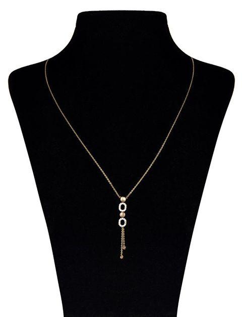 گردنبند طلا 18 عیار ماهک مدل MM0380 -  - 1