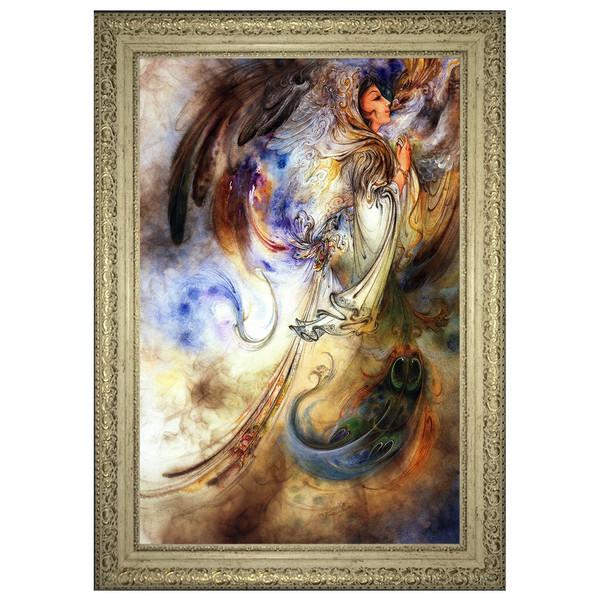 تابلو چاپ سی طرح اثر استاد فرشچیان کد 0122