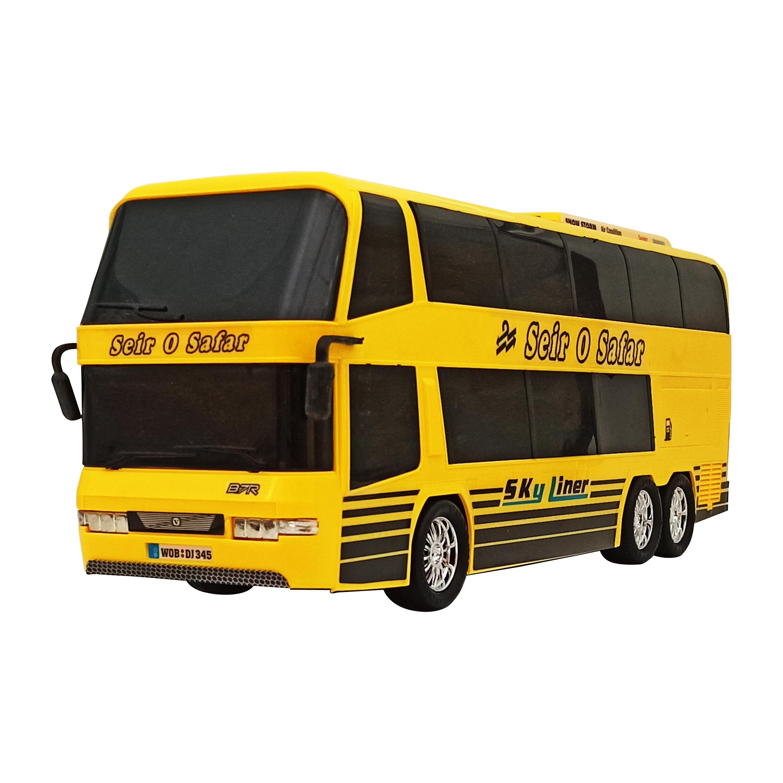 ماشین بازی مدل اتوبوس کد RM77