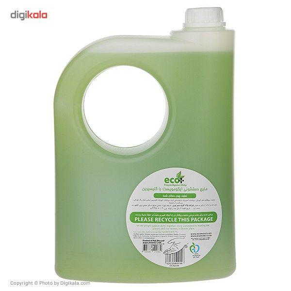 مایع دستشویی گلیسیرینه ایکو مویست مدل Green حجم 3750 میلی لیتر main 1 2