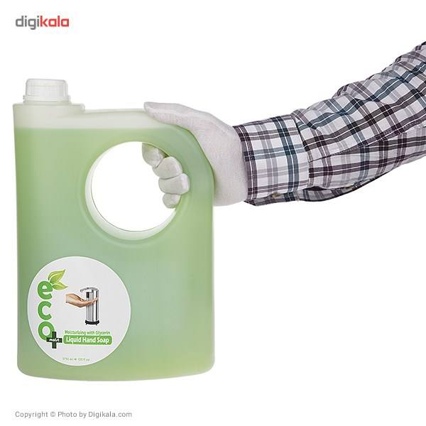 مایع دستشویی گلیسیرینه ایکو مویست مدل Green حجم 3750 میلی لیتر main 1 3